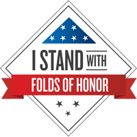 We are a proud partner of Folds of Honor.